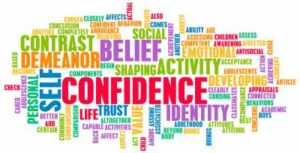 cloud image of confidence words